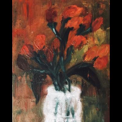 静物画:赤い実