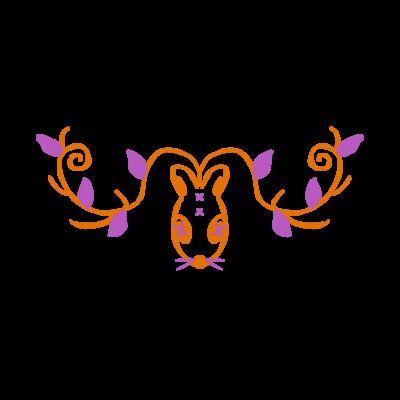 鹿兎×白鹿シロ008【両面プリント】
