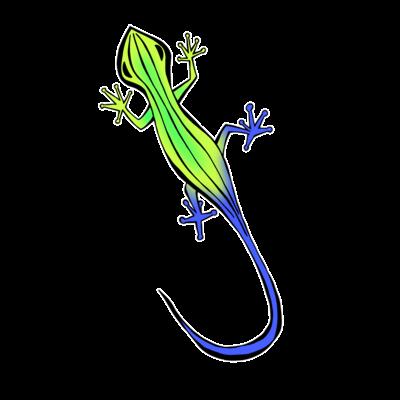 トカゲくん(緑)