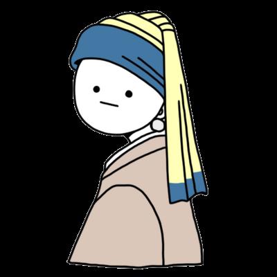 ターバンの少女