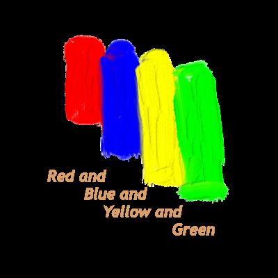 赤、青、黄、緑