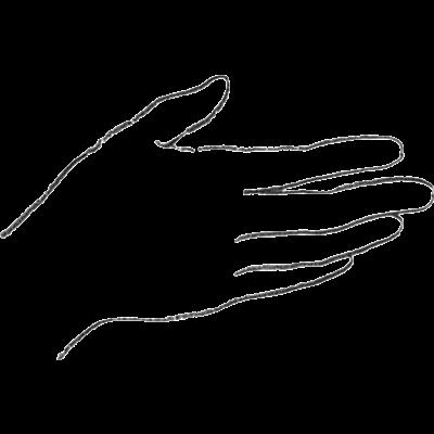 Let's hold hands / 手をつなごう(右手)