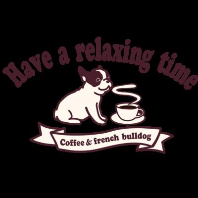 コーヒーとフレンチブルドッグ