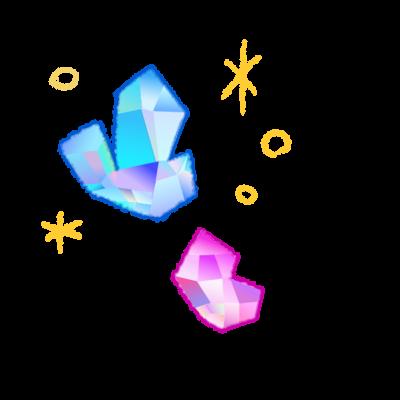クレヨン魔法石