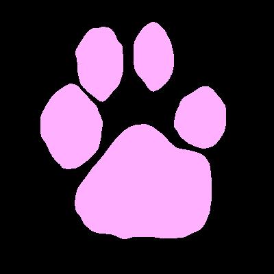肉球サイン ピンク