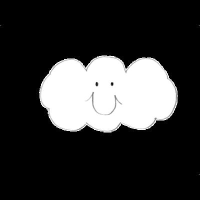 もくもく雲さん