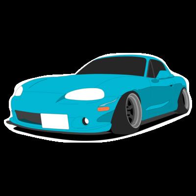 車のステッカー