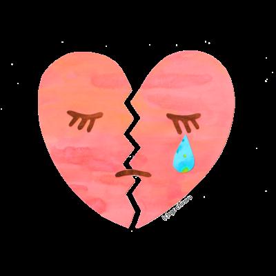 Sad feeling.