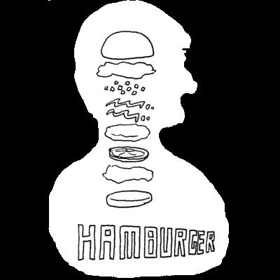 頭の中はハンバーガー(アイテム・カラー限定)