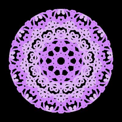 薄紫色レース