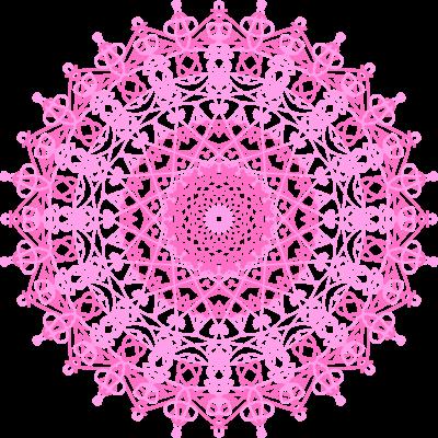 丸レースピンク