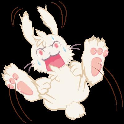 兎丸うさまる:白うさぎ ウサギ