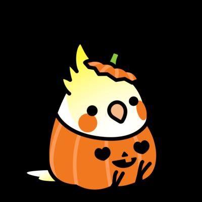 Chubby Bird オカメインコ Trick or Tweet!