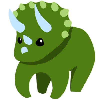 トリケラトプスのとぷくん