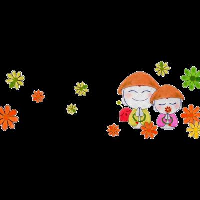 お地蔵さま*花♪