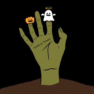 Finger puppets(ゾンビ)