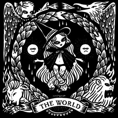THE WORLD - TAROT