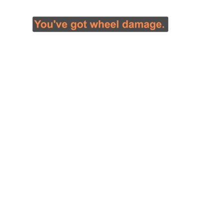 【iRacing】You've got wheel damage.シリーズ