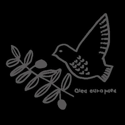 キナバル_オリーブの実と鳩 No.4