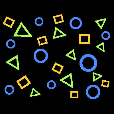 丸・三角・四角