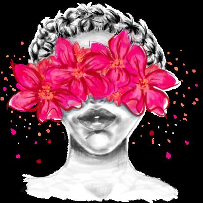Eyes flower crown