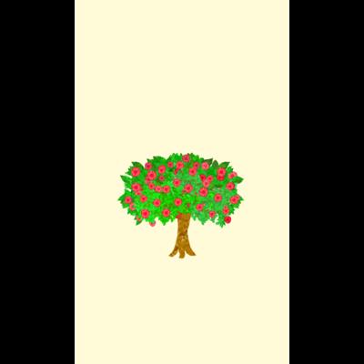 メルヘンなりんごの木