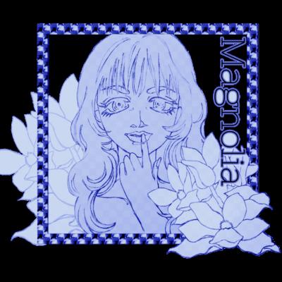 Magnolia(ブルー)