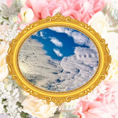 キスをする雲☆Kissing cloud