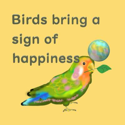 鳥さんデザイン