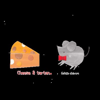 Cheese & tartan.
