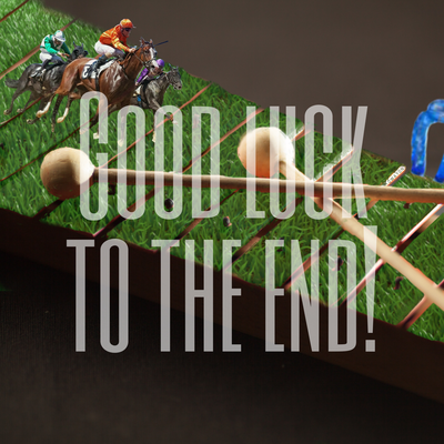 GOOD LUCK TO THE END!