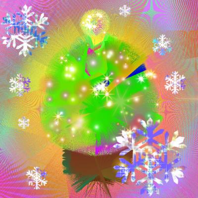 クリスマスのきらめき