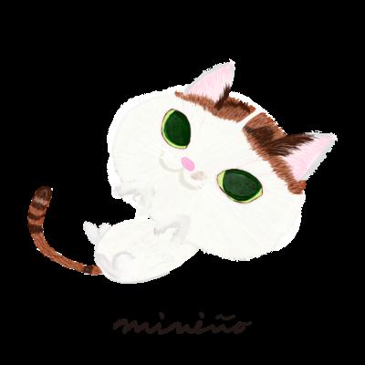 三毛猫のちびすけちゃん