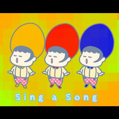 お歌を歌いましょー!