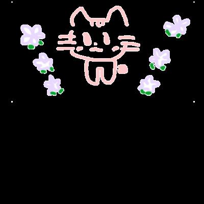 pinkネコと小花ちゃん