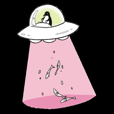 キャトるUFOペンギン