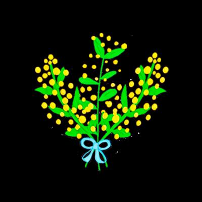 ミモザの花束