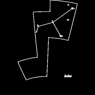 インディアン座(88星座シリーズ)
