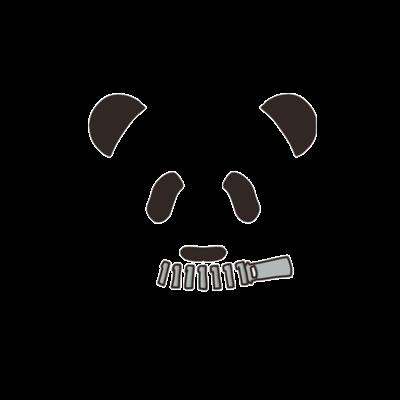 黙食パンダ