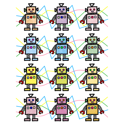 パステル ロボット