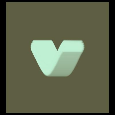 v or ♡