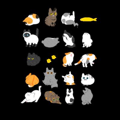 【収集用】猫すがた・集合
