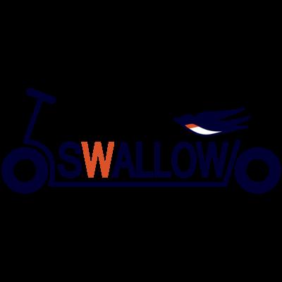 キックボード風スワローロゴ