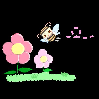 こんにちは、お花さん。