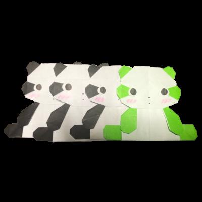 パンダの残像