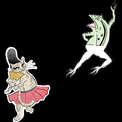 鳥獣戯画×バレエ