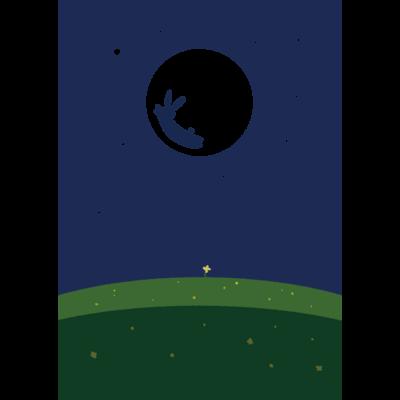 ひと掬いの 月のお花