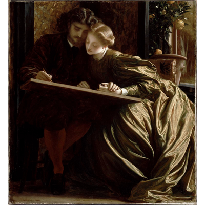 フレデリック・レイトン  《画家のハネムーン》