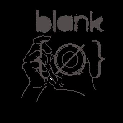 写真展 blank
