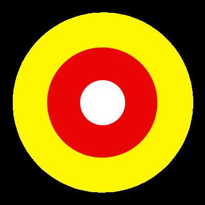 サークルa-黄、黄土【Tシャツ】